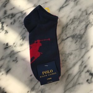 POLO RALPH LAUREN-3 Pairs of Socks NWT